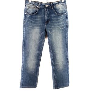 Hudson Girls Medium Wash Skinny Jeans SZ 16